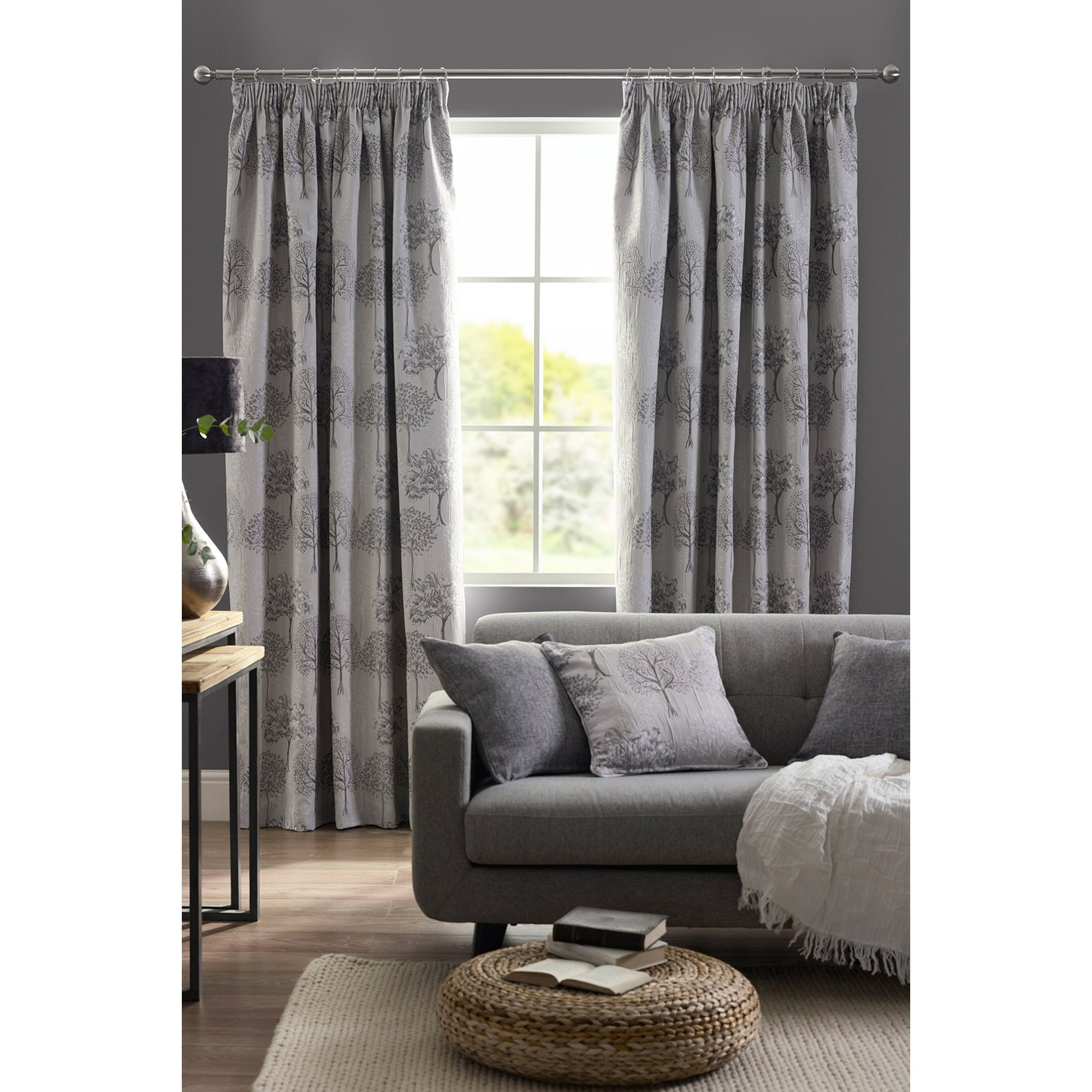 Image of Arden Lined Pencil Pleat Curtains