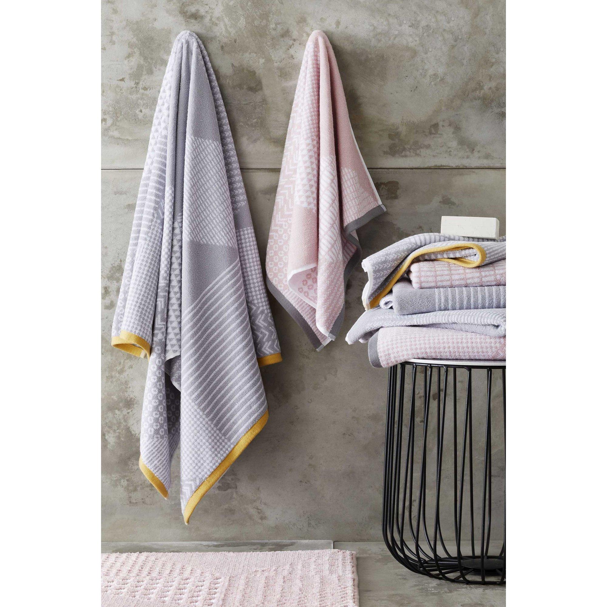 Image of Catherine Lansfield Larsson Geo 4 Piece Towel Bale