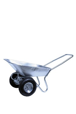 Pneumatic 2 Wheeled Tipper Wheelbarrow