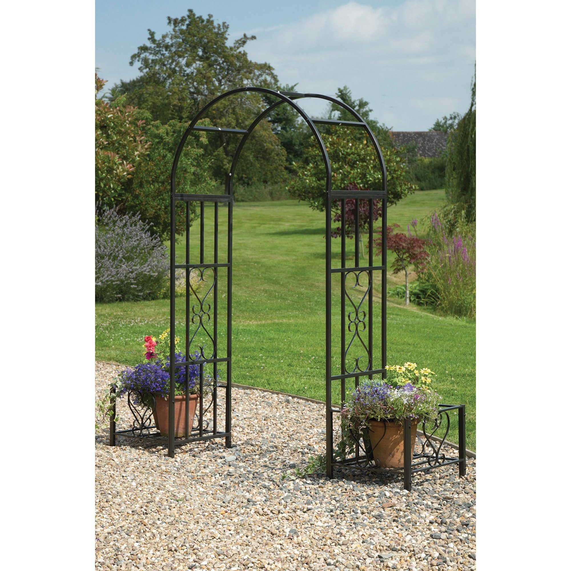 Image of Arbour with Planter