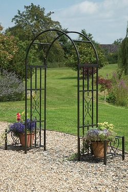 Arbour With Planter