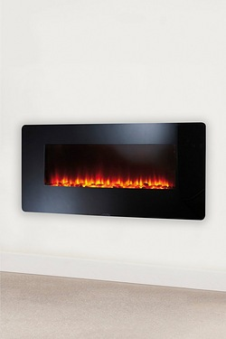 "Beldray EH1162 36"" Colour Changing LED Wall Fire"