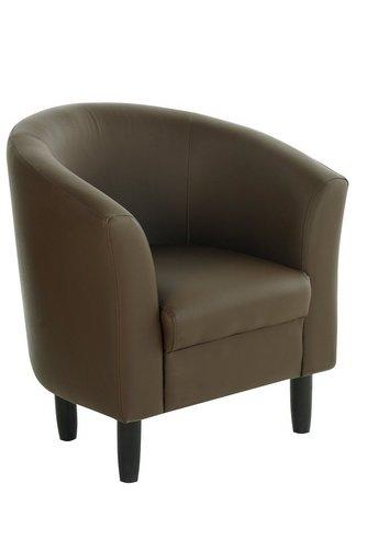 Faux Leather Tub Chair | Studio