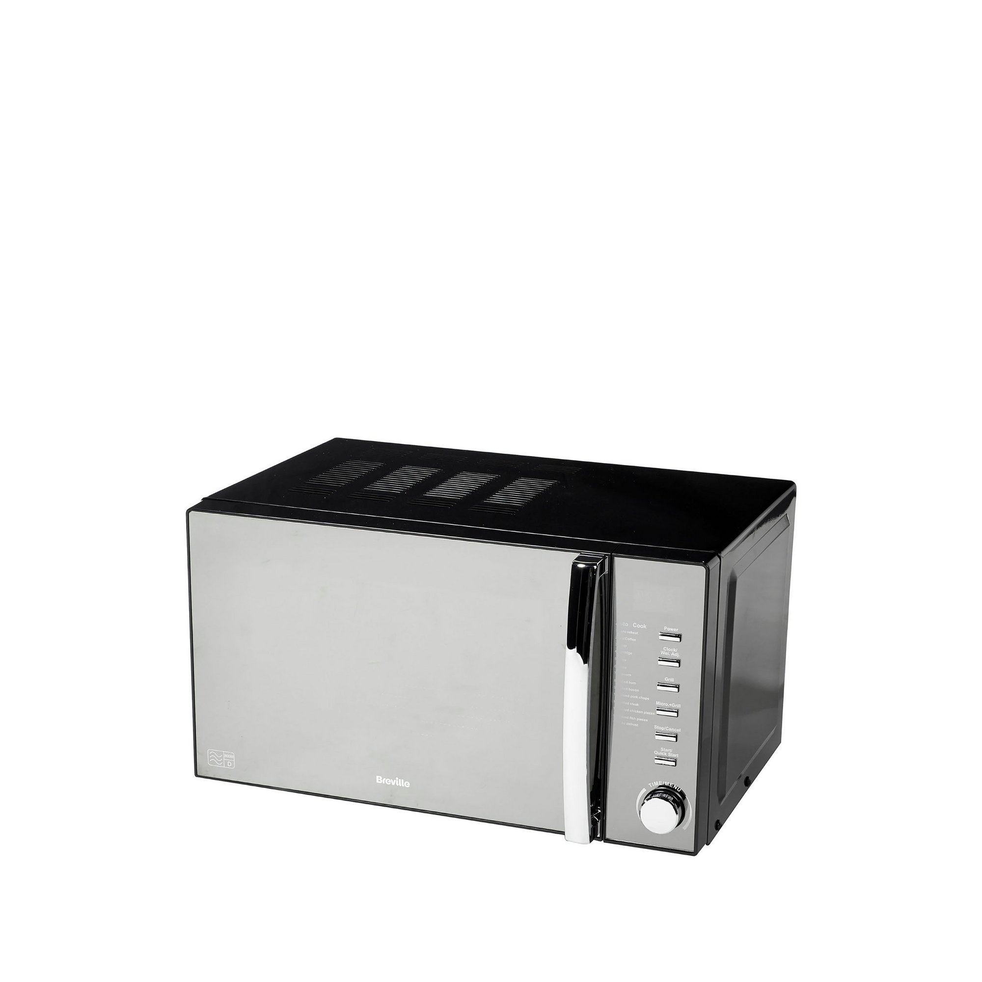 Image of Breville Black 800W Microwave with Grill