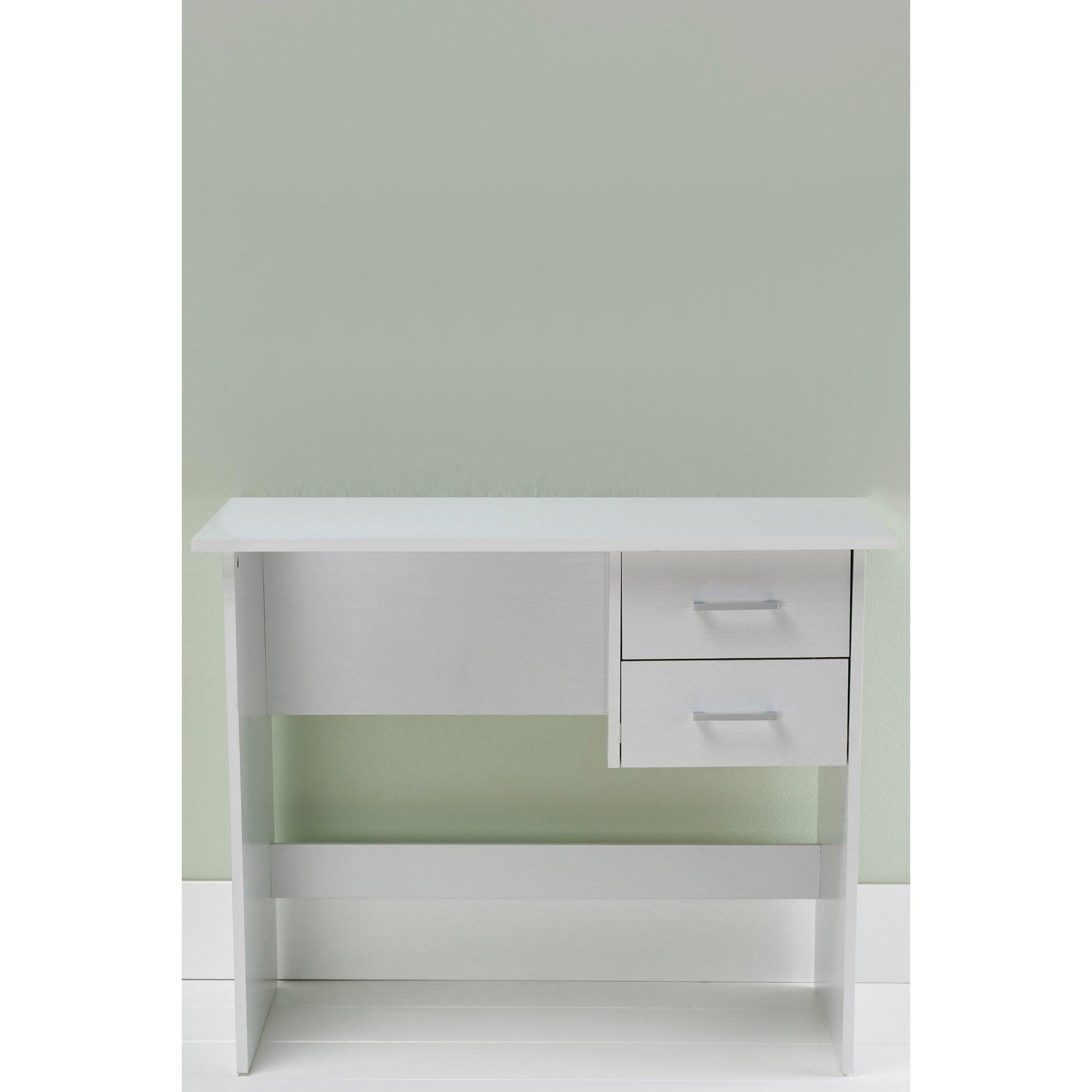 Image of 2 Drawer Desk/Dressing Table