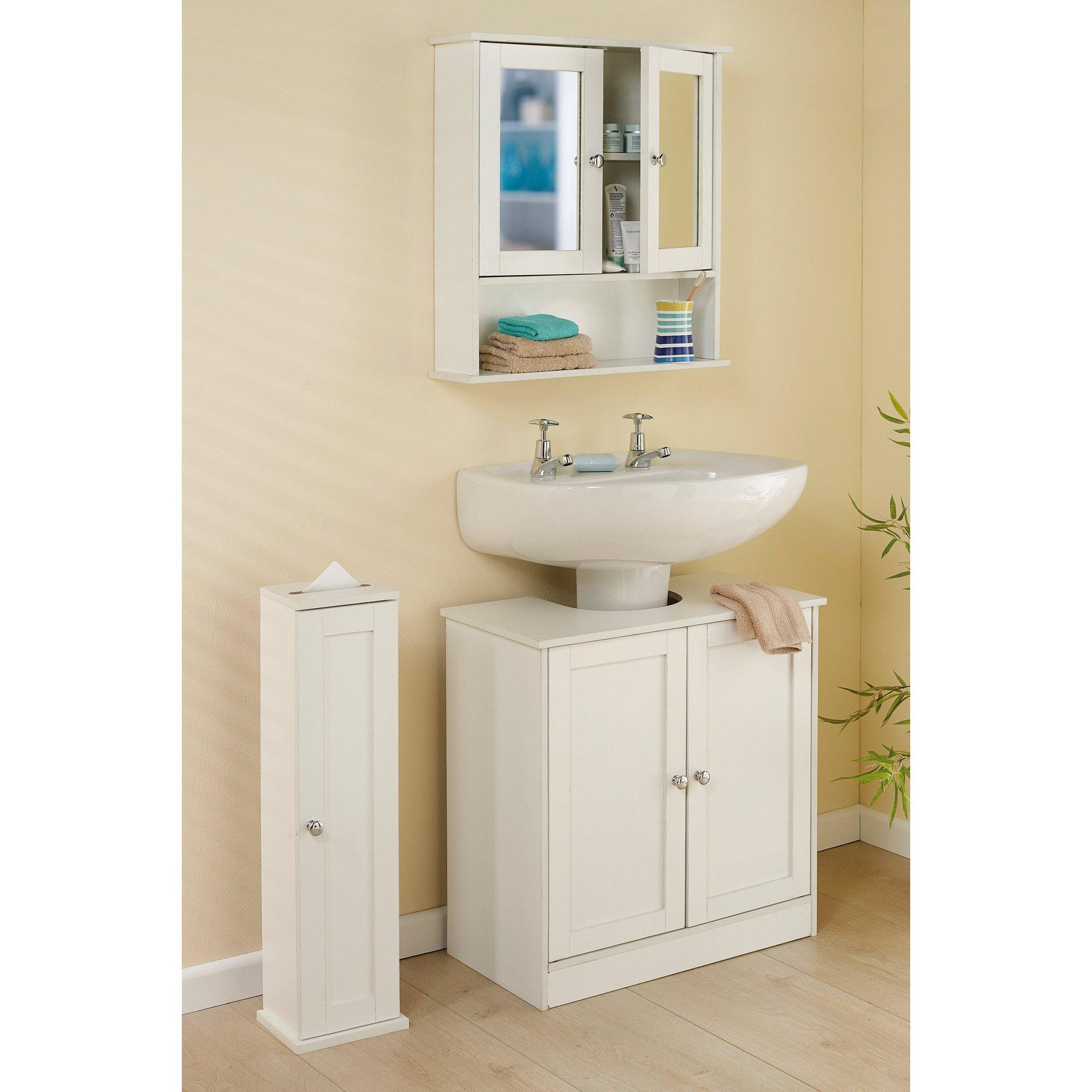 Image of 3-Piece Bathroom Furniture Set