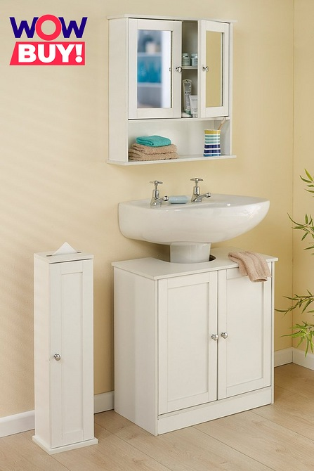 3 Piece Bathroom Furniture Set Studio