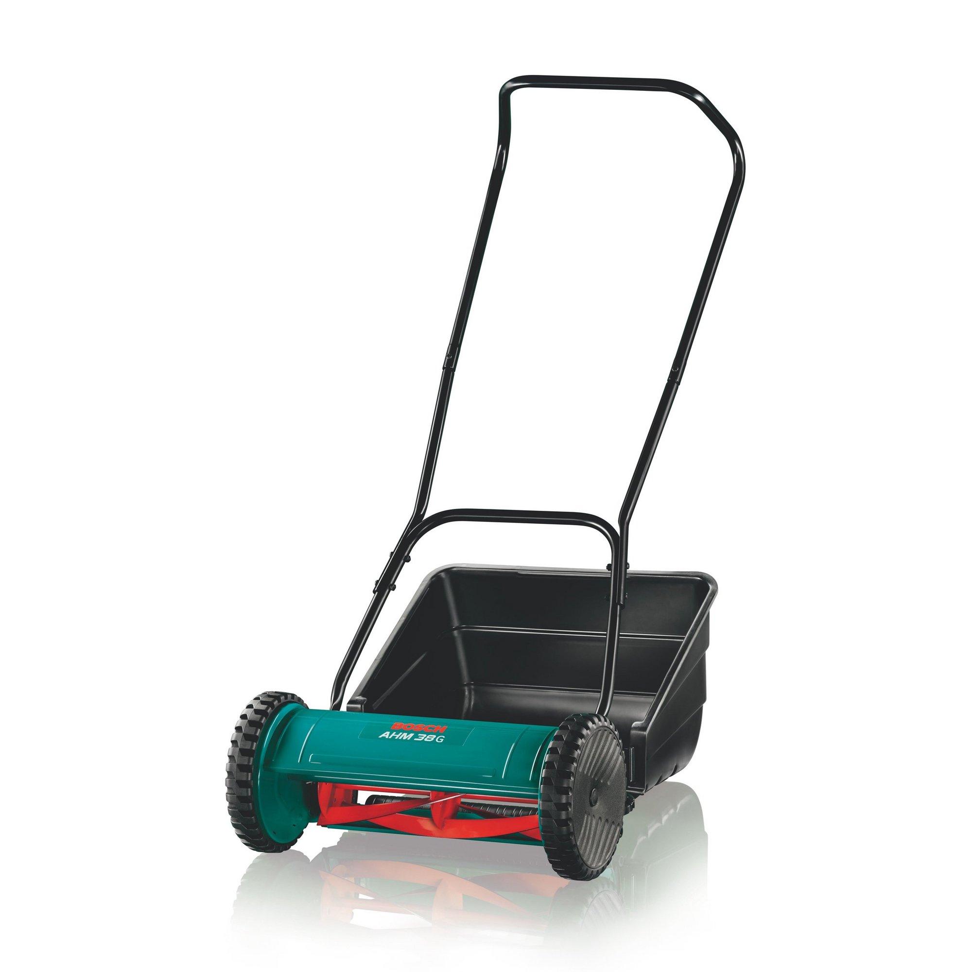 Image of Bosch AHM38G Hand Push Cylinder Lawnmower