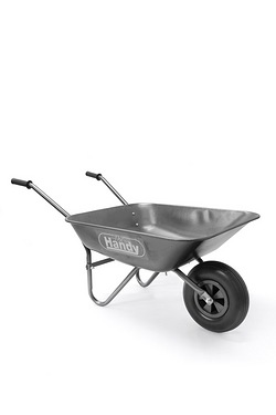 The Handy 65 Litre Galvanised Wheel Barrow