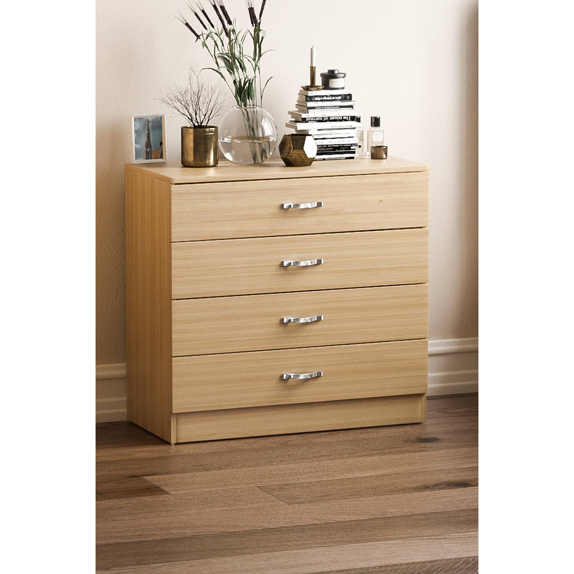 Image of 4 Drawer Chest of Drawers