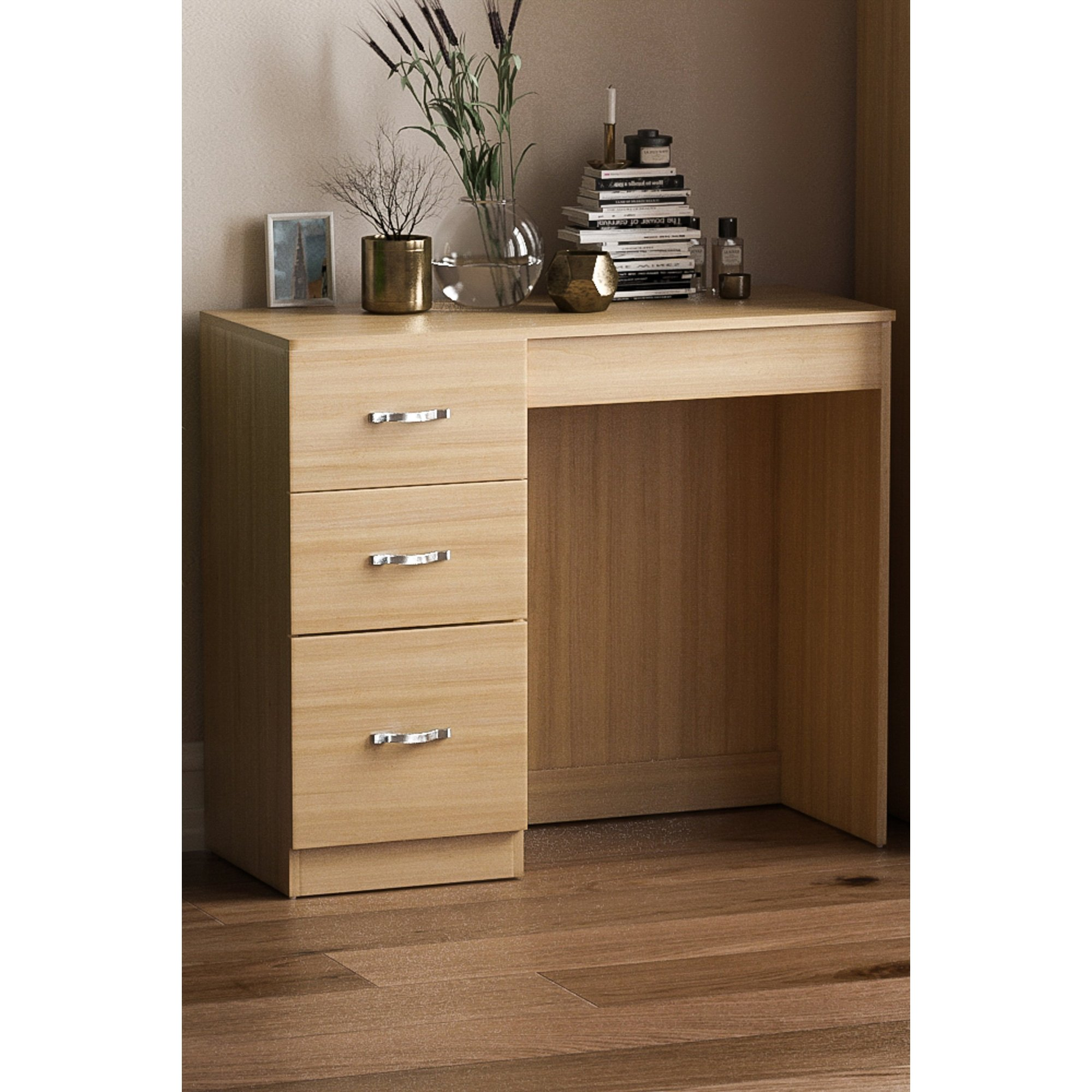 Image of 3 Drawer Dressing Table
