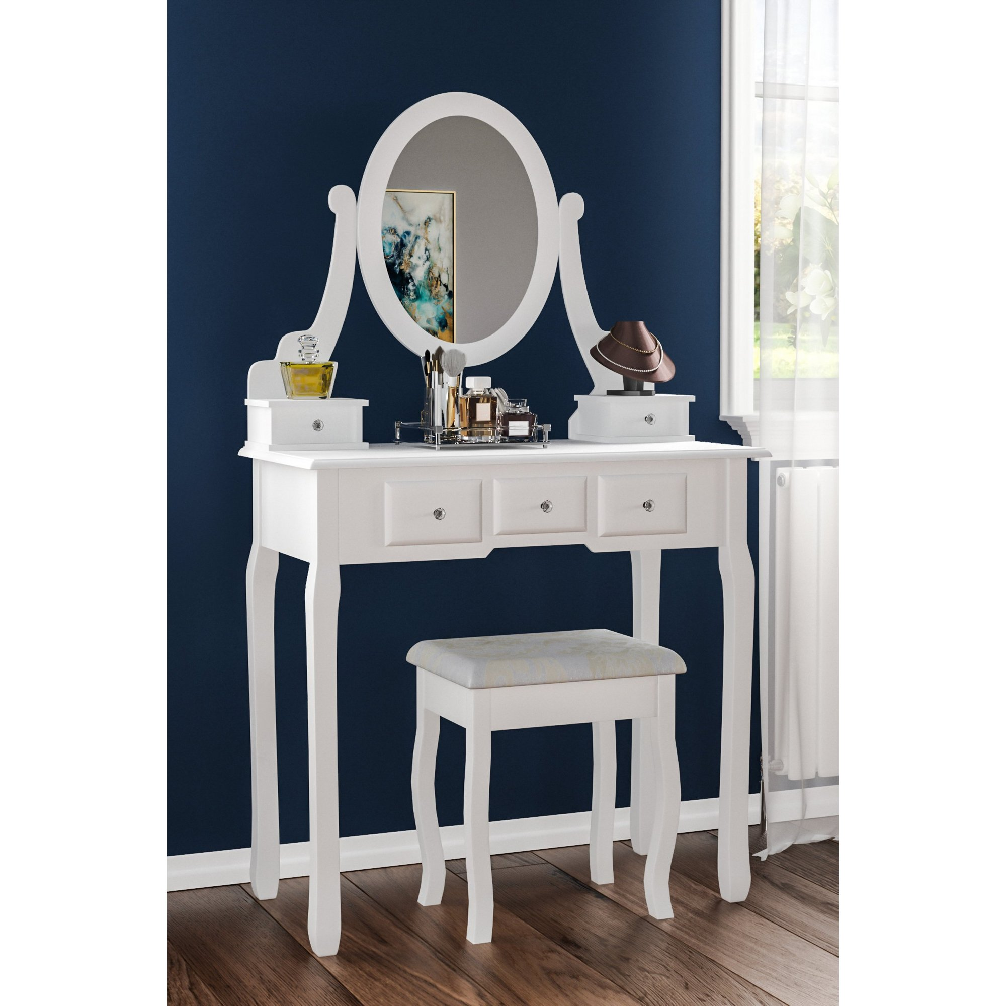 Image of 5 Drawer Dressing Table Set
