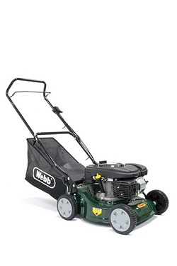 Webb R41HP Push Steel Deck Petrol Rotary Mower