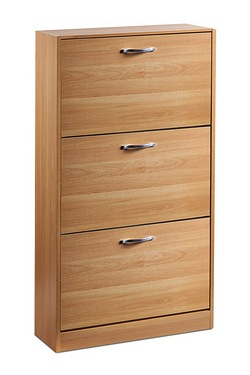 Shoe Storage Cabinets - 3 Drawers