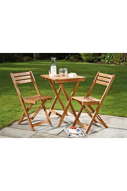 Cayman 2 Seater Wood Bistro Set
