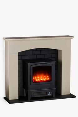 Inspire Amalfi Mini Stove Electric Fire Suite