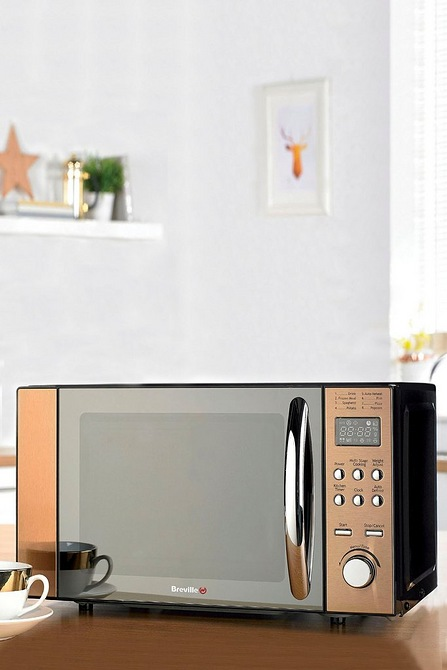 Image for Breville 800W Bronze Microwave