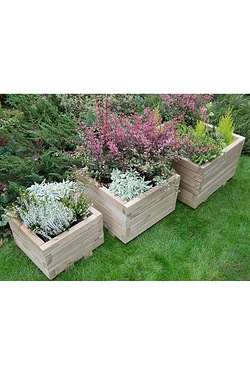 Kendal Square Planter Set Of 3