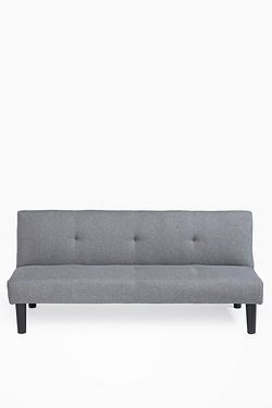 Capri Sofa Bed - Grey Fabric