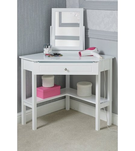 Genial Corner Dressing Table With Mirror | Studio