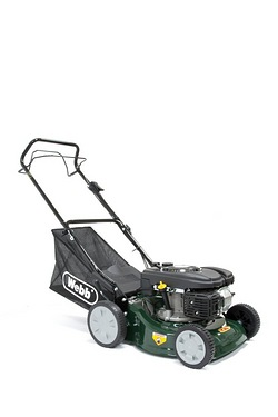 Webb 41HP Self Propelled Rotary Petrol Lawnmower