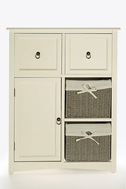 Salisbury 1 Door 2 Drawer 2 Basket Unit