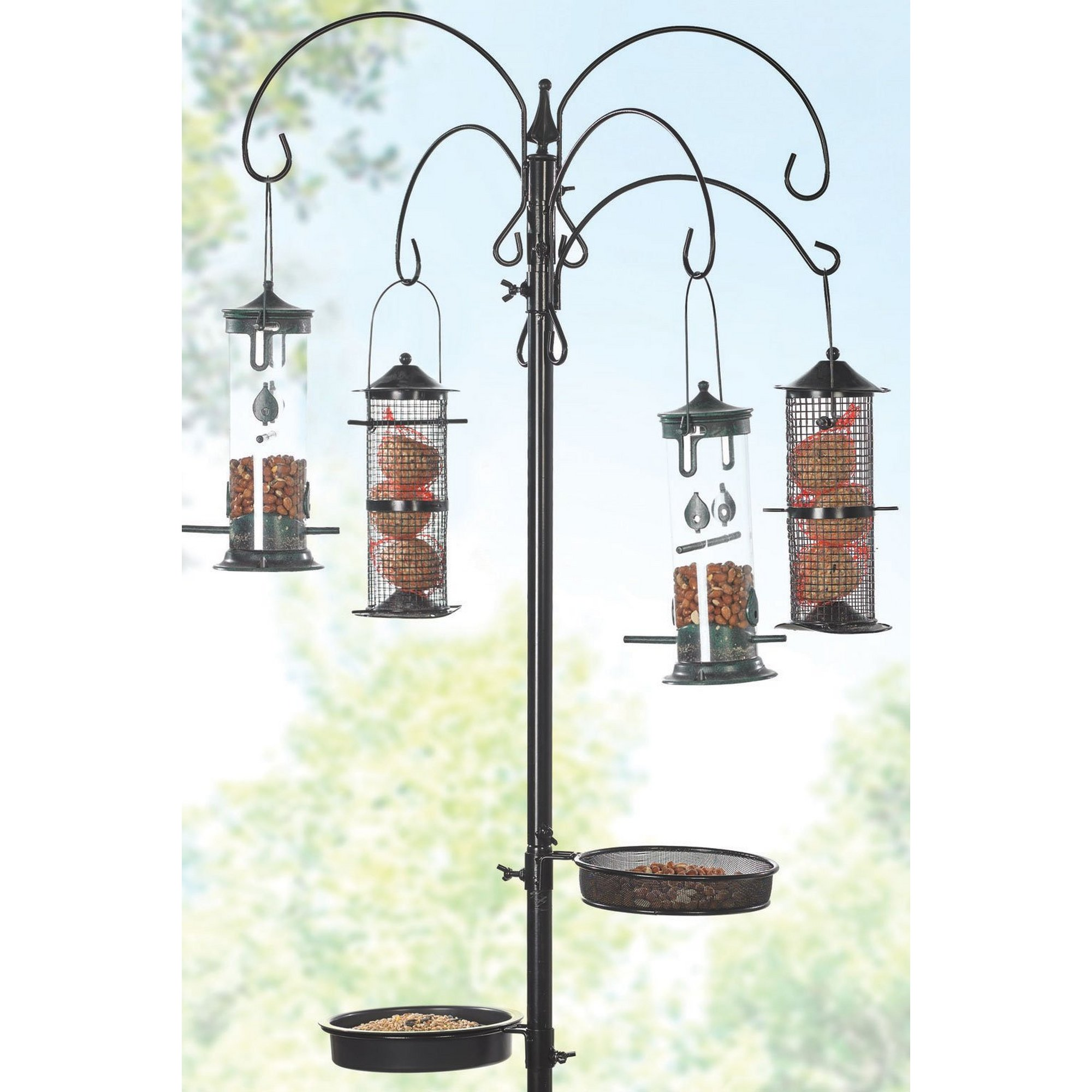 Image of All In One Bird Feeding Station