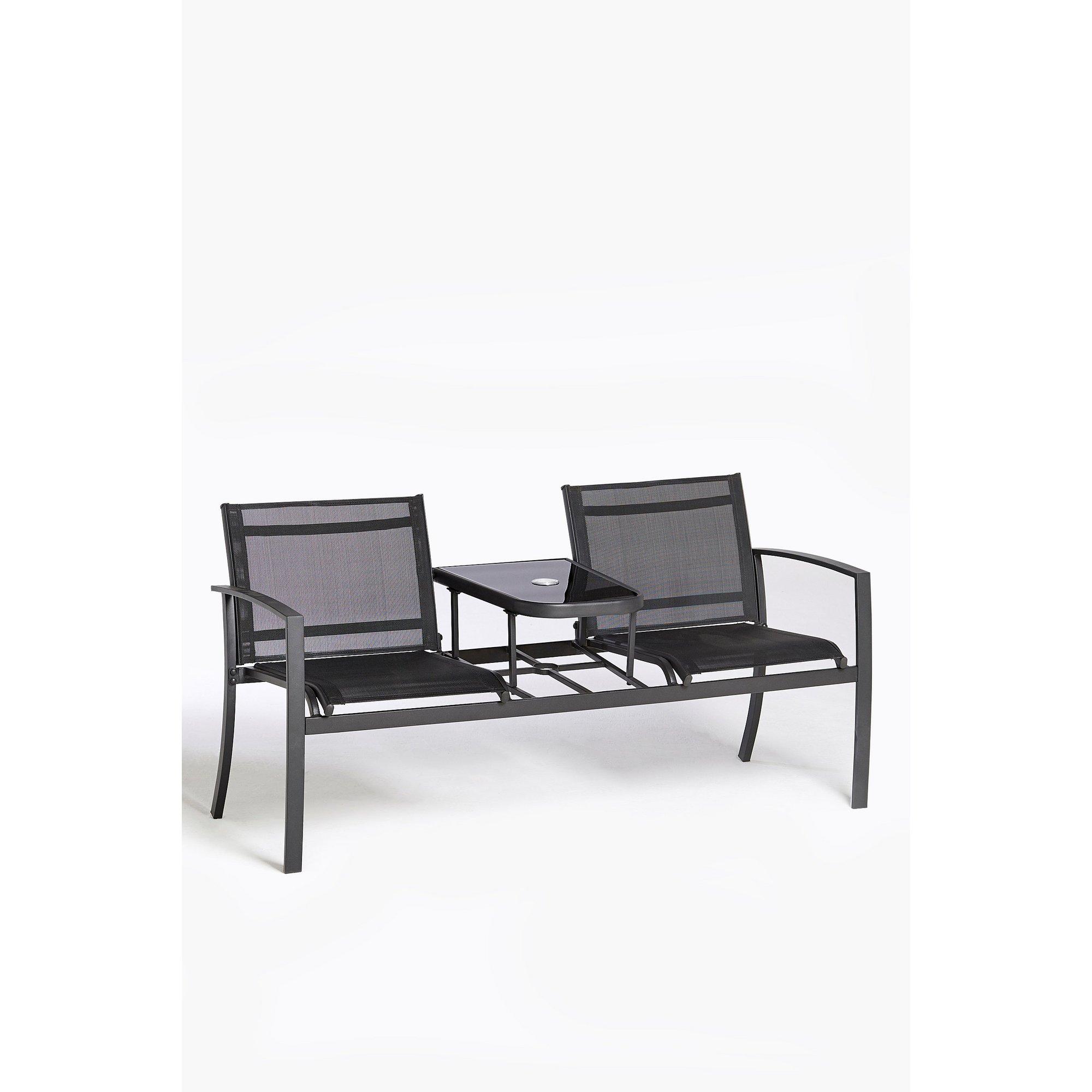 Image of Glendale Textilene 2 Seater Love Seat