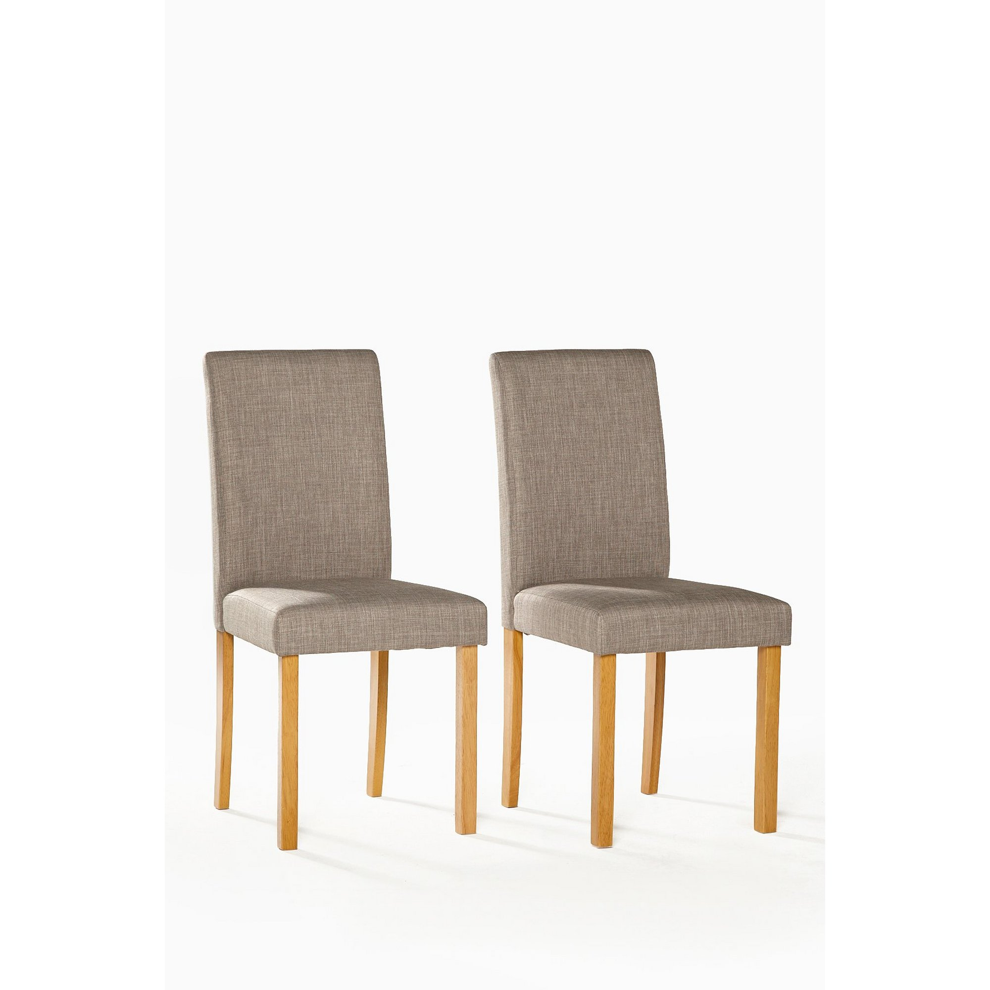 Image of Pair of Kingston Chairs - Fabric