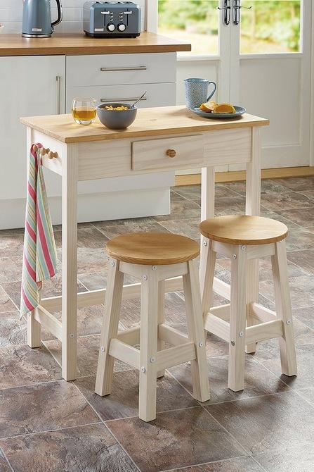 Peachy Solid Pine Breakfast Bar Set Evergreenethics Interior Chair Design Evergreenethicsorg