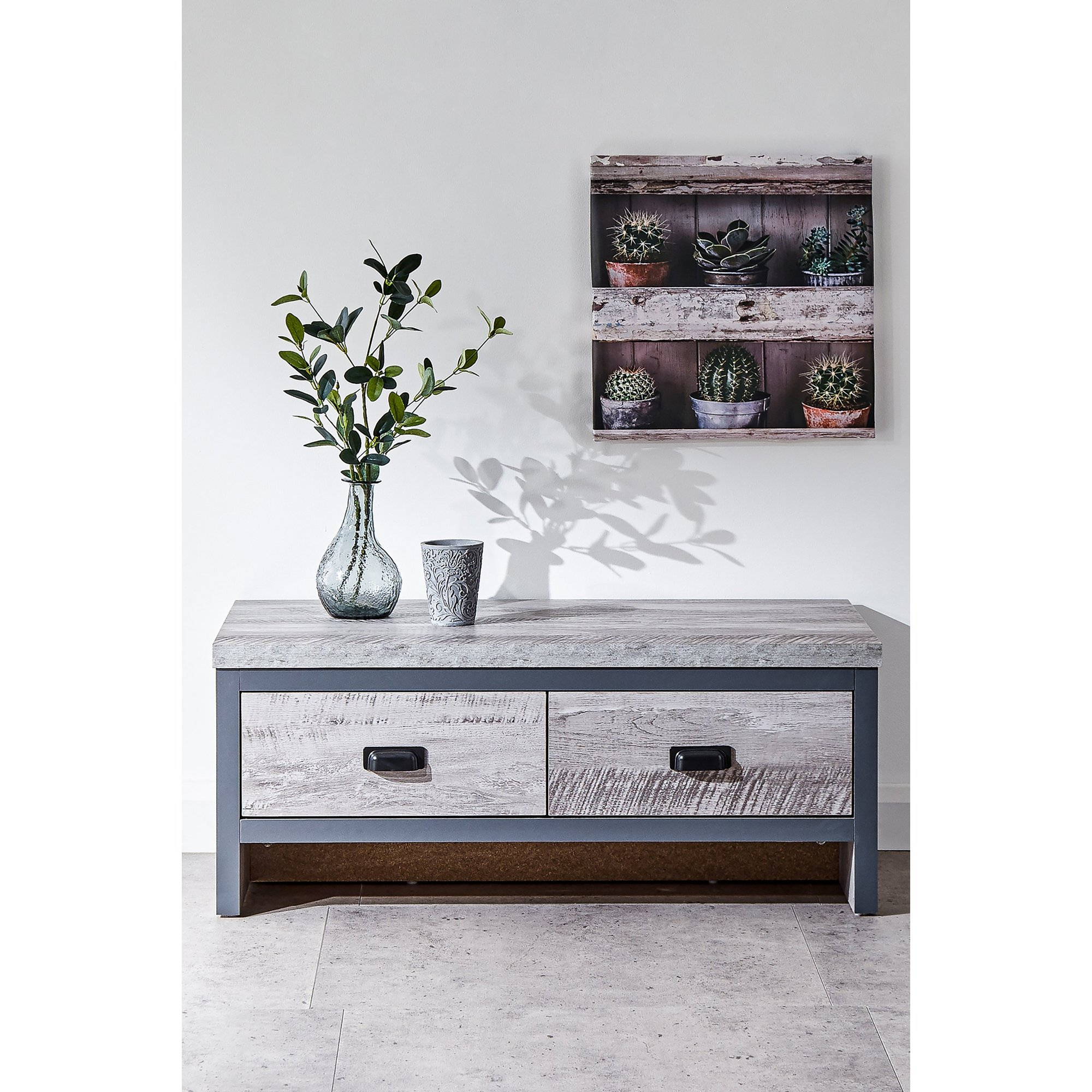 Image of Boston 2 Drawer Coffee Table