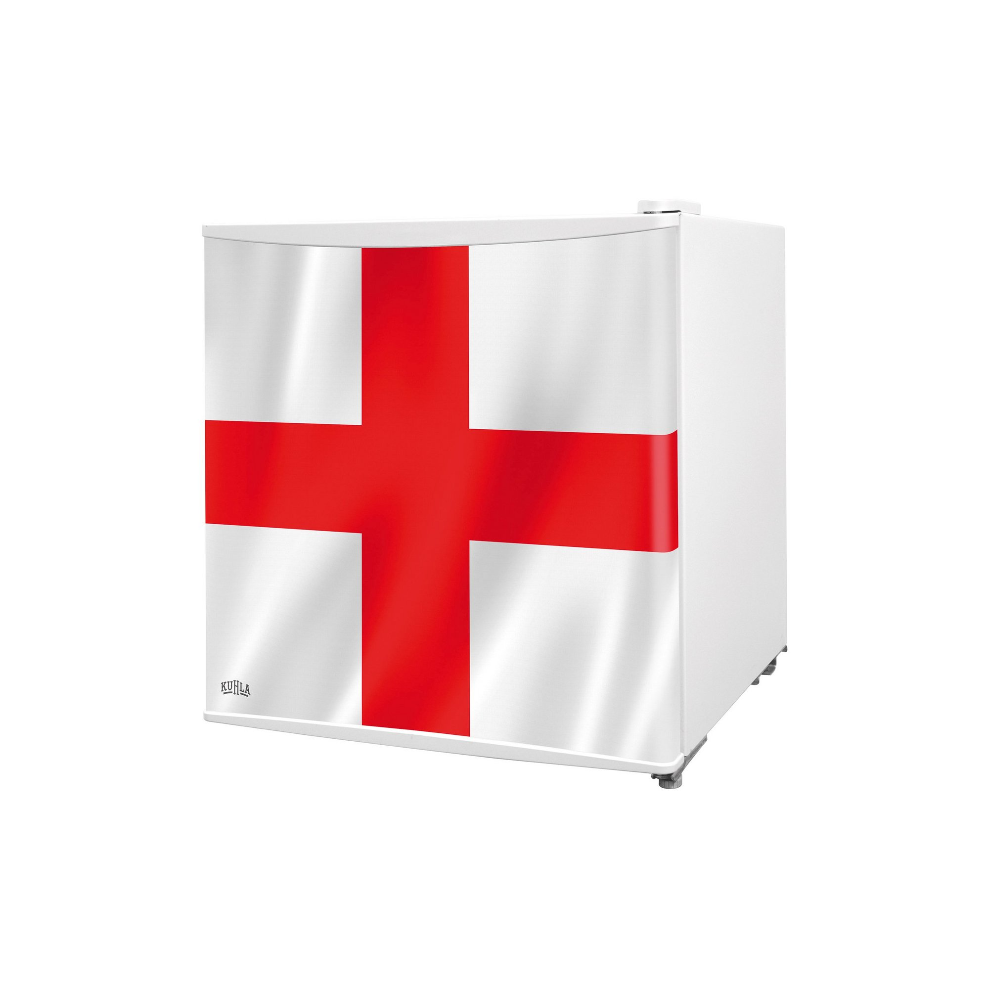 Image of Kuhla Table Top St. Georges Flag Fridge