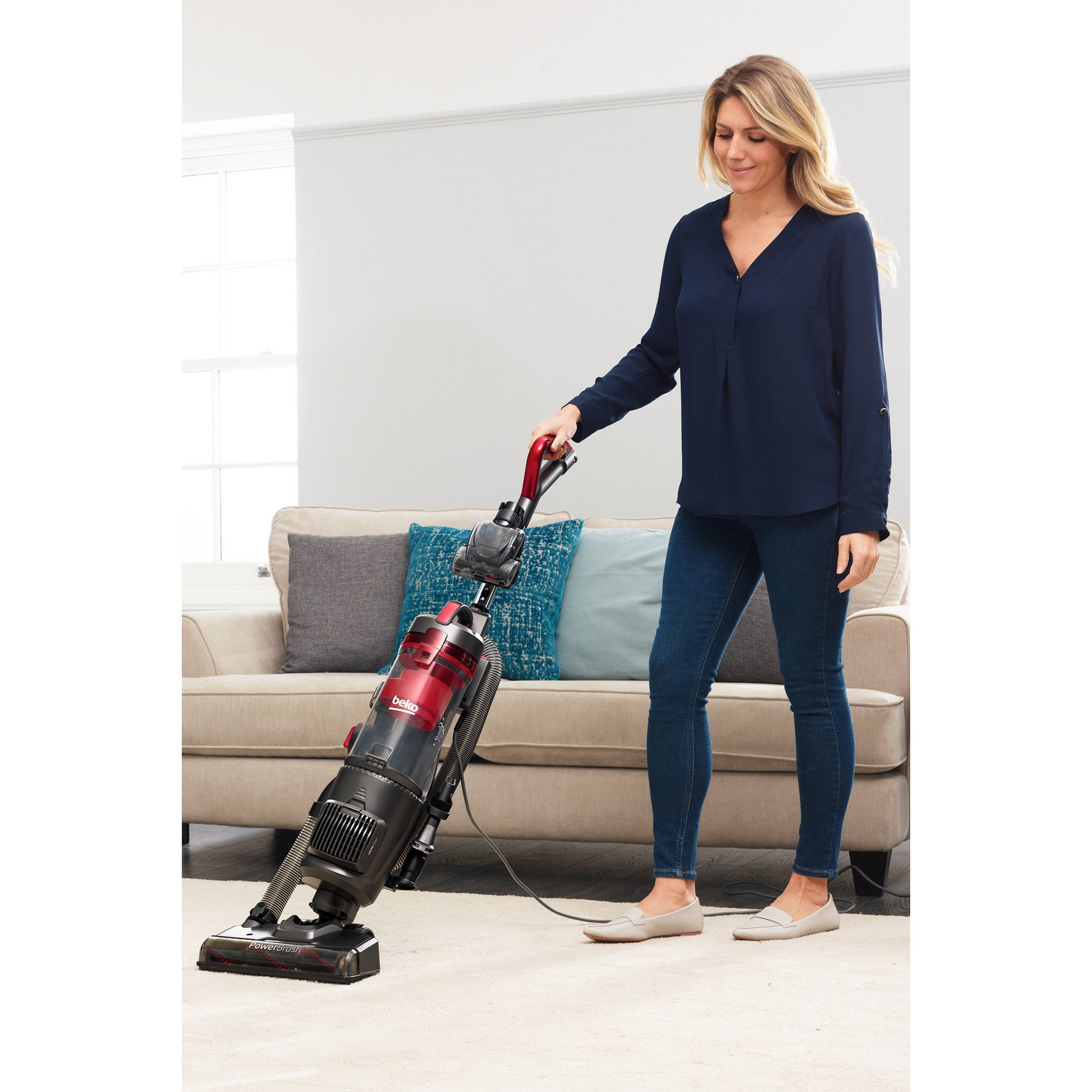 Image of Beko Upright Vacuum Cleaner
