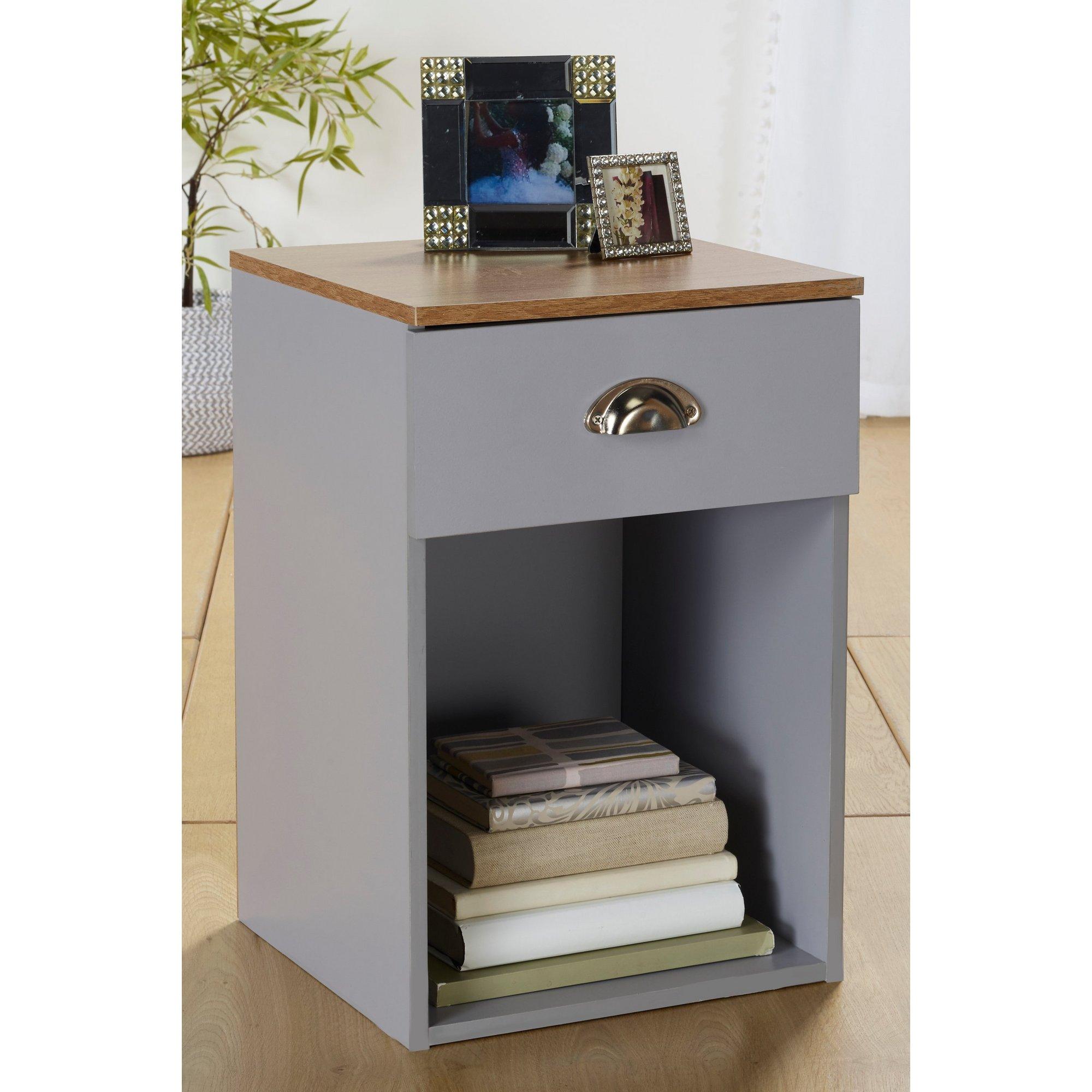 Image of Christian 1 Drawer Bedside Cabinet