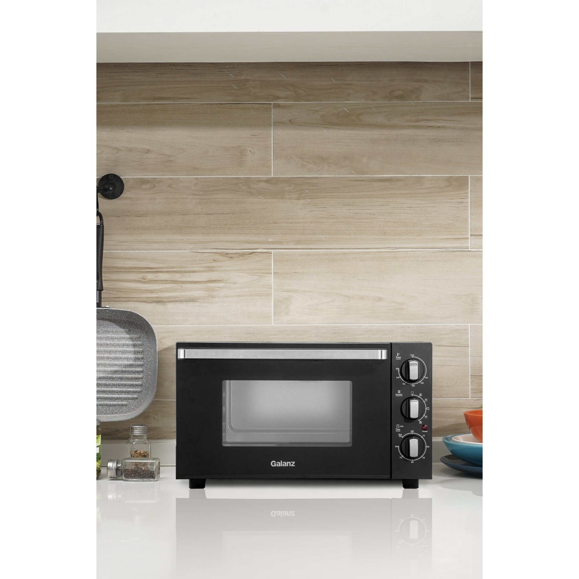Image of Galanz 30 Litre 1500W Mini Oven with Rotisserie