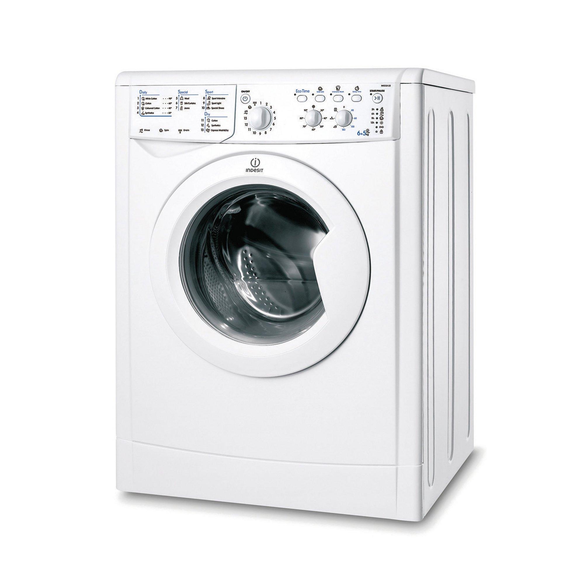 Image of Indesit 6kg + 5kg 1200 Spin Washer Dryer
