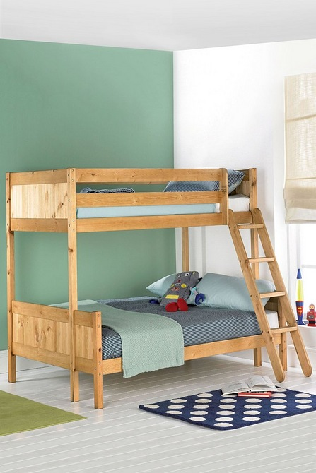 Solid Pine Triple Sleeper Without Mattresses Studio