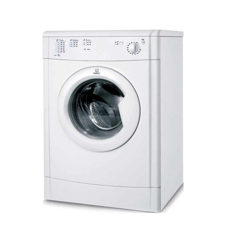 indesit 7kg vented tumble dryer