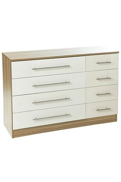 Melbourne 4+4 Drawer Chest