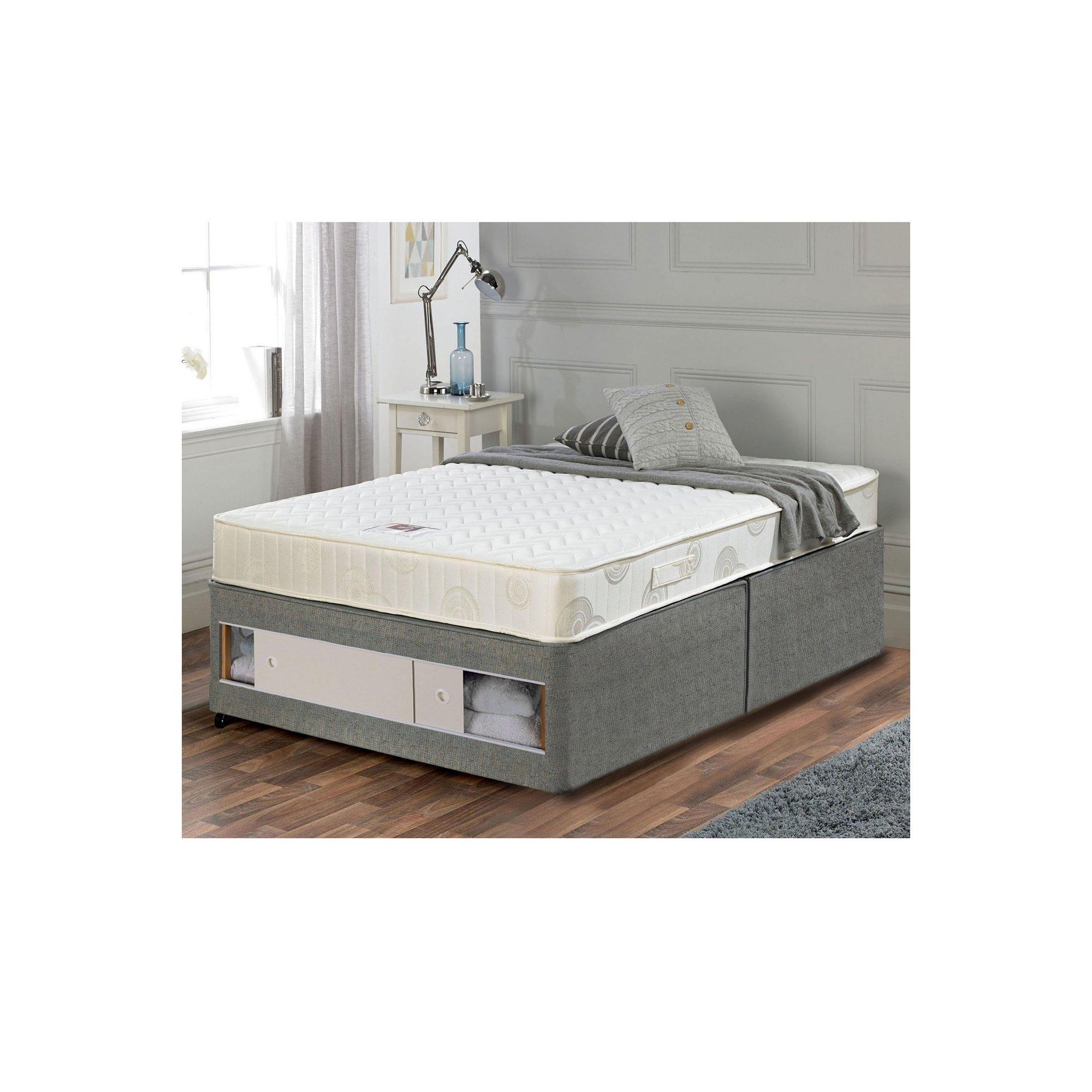 Image of Airsprung Memory Flex Divan Bed - Slide Storage