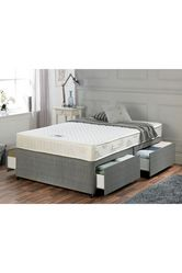 Airsprung Memory Flex Divan Bed - 4 Drawer Storage