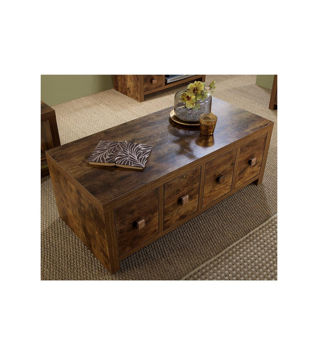 Image For Mango Wood Effect Coffee Table Trunk From Studio