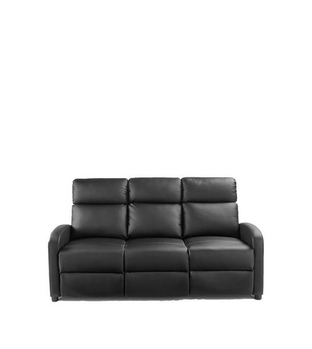 Faux Leather Recliner Sofa Studio