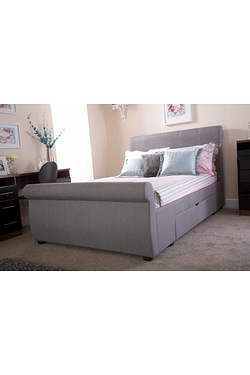 Alabama 2 Drawer Bed With Mattress