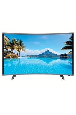 "Cello 55"" Ultra HD Android Smart Curved LED TV"