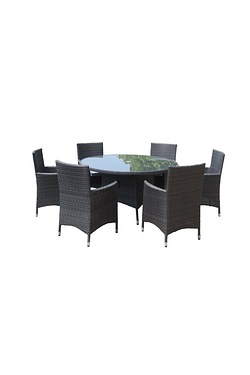 Royalcraft Marlow 6 Seater Round Set