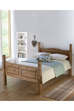 Corona Bed High Foot End