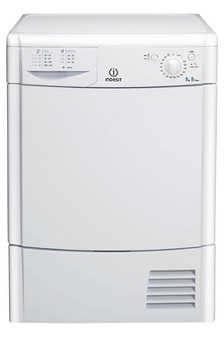 Indesit 8kg Condenser Sensor Tumble Dryer