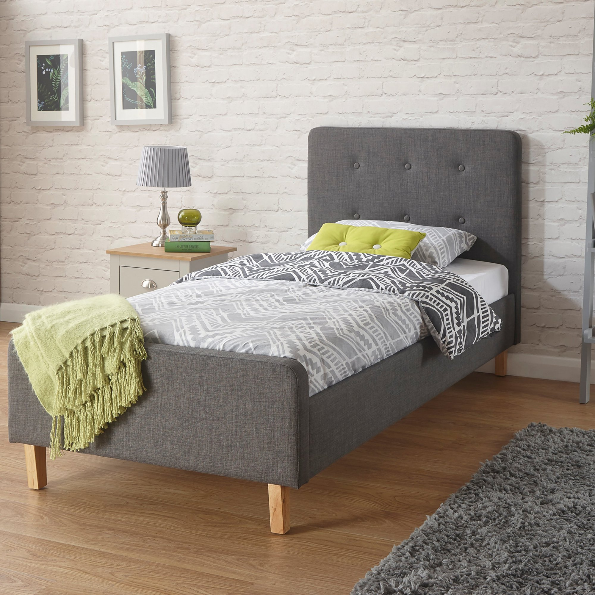 Image of Ashbourne Bed with Mattress