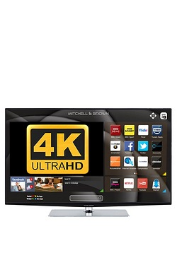 "Mitchell Brown 49"" 4K Ultra HD Smart TV"